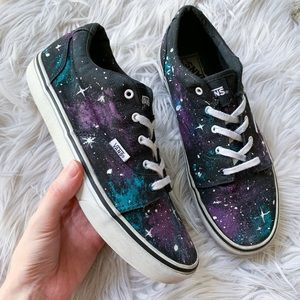 Vans Galaxy Space Print Lo Pro Lace-Up Sneakers